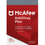 McAfee Antivirus Plus - 1 Year, 3 Device (Download)